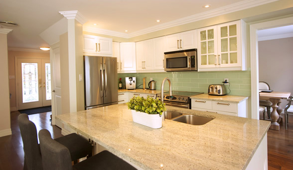 Kitchen remodelling and cabinet installation